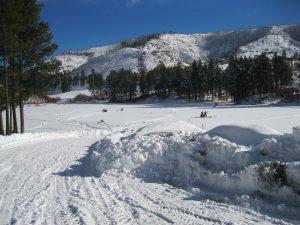 Fenton Lake Ice Fishing Winter 2016