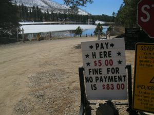 Fenton Lake State Park...$5 Entrance Fee