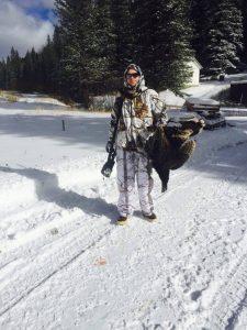 Joe Kosalko Of Seven Spring Fish Hatchery With His 2016 Turky